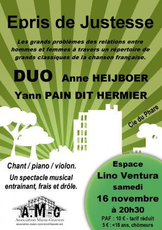 Anne et Yann en concert
