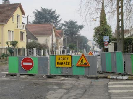 Travaux rue Clemenceau